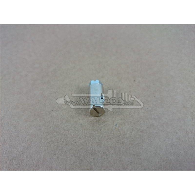 schraubnippel mit 6 kant schraube 15 mm 4 mm bohrung schaft 8 mm 2 13. Black Bedroom Furniture Sets. Home Design Ideas